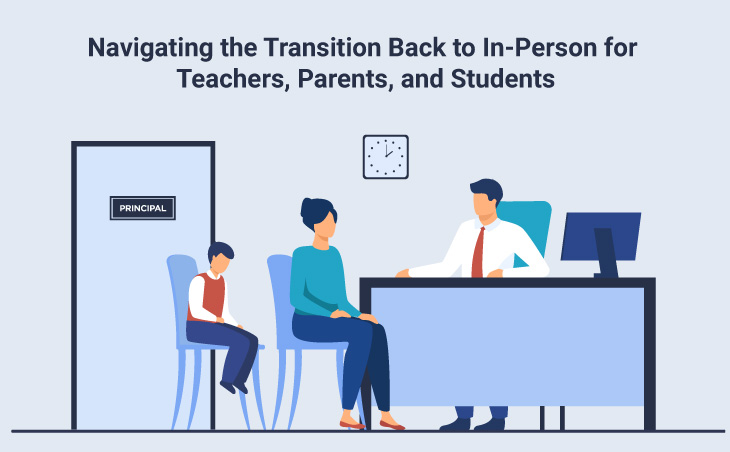 Navigating the Transition Back to In-Person for Teachers, Parents, and Students