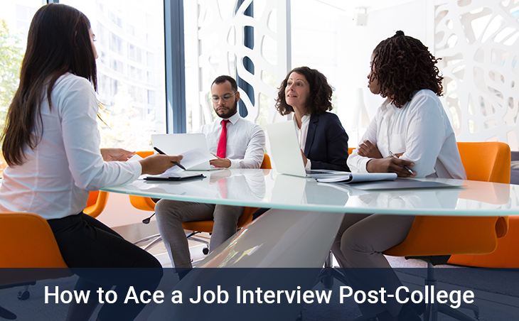 How to Ace a Job Interview Post-College