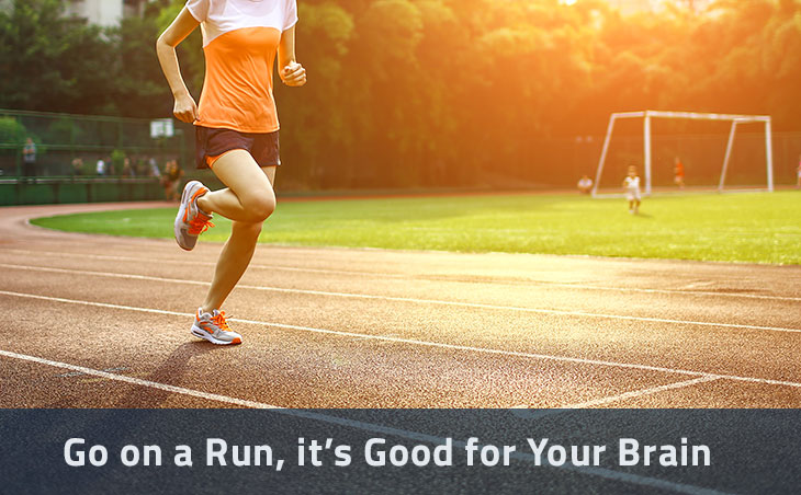 Go on a Run, it's Good for Your Brain